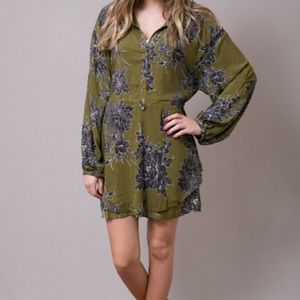 Free People- Floral Tunic Dress